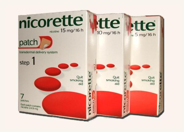Zkušenosti - nikotinové náplasti NICORETTE