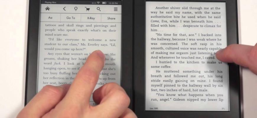 Čtečka Amazon Kindle paperwhite – osobní zkušenost & recenze