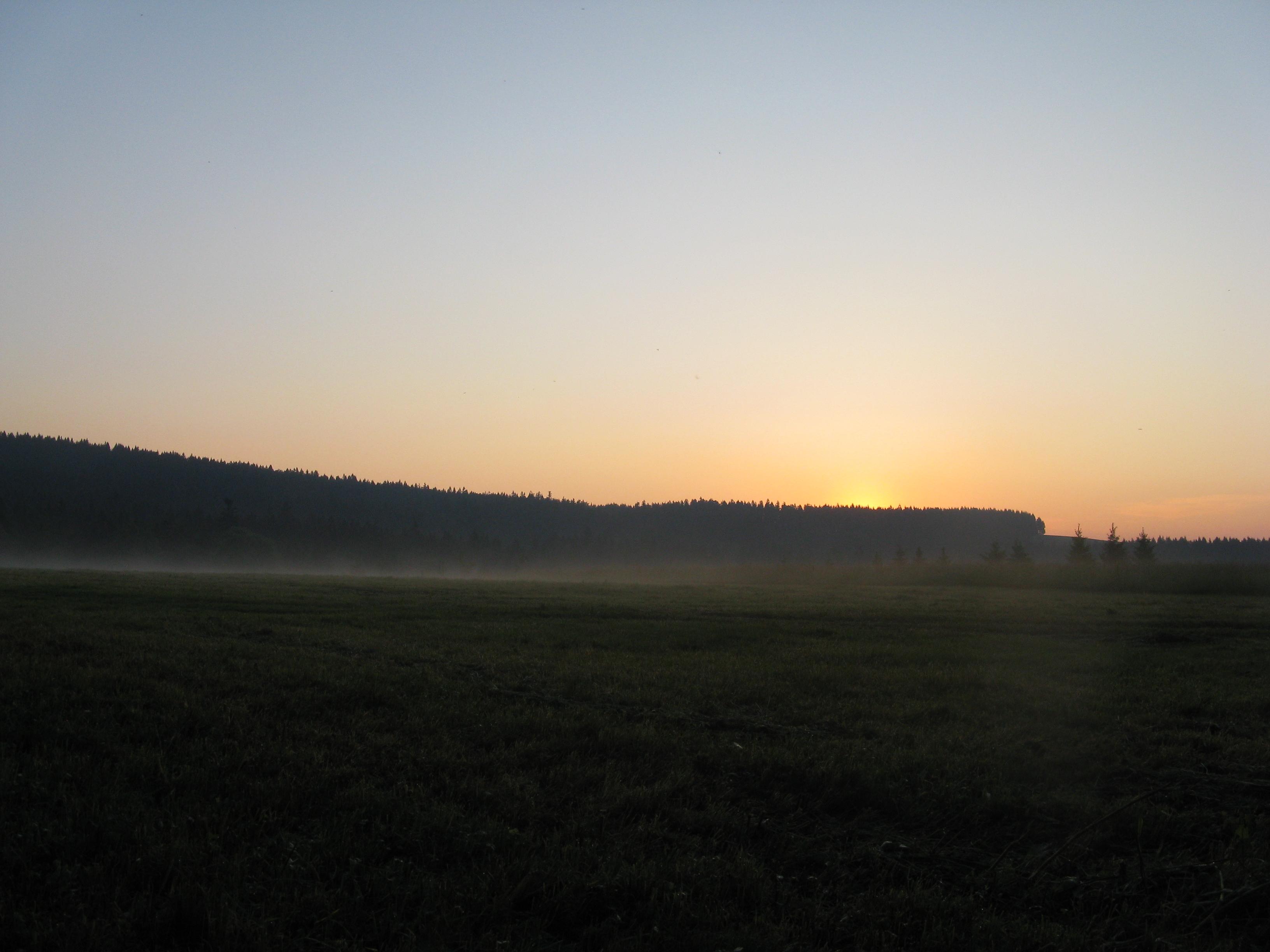 Foto 8: Nádherný pohled na východ slunce, pro tenhle pohled stojí za to si přivstat