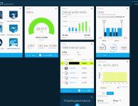 """Webová aplikaci Garmin Conect zobrazuje historii kroků, spánku, """"odznaky"""" ap."""