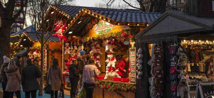 Asi jediné co snese označení vánoční trhy, jsou ty na Staroměstském náměstí.